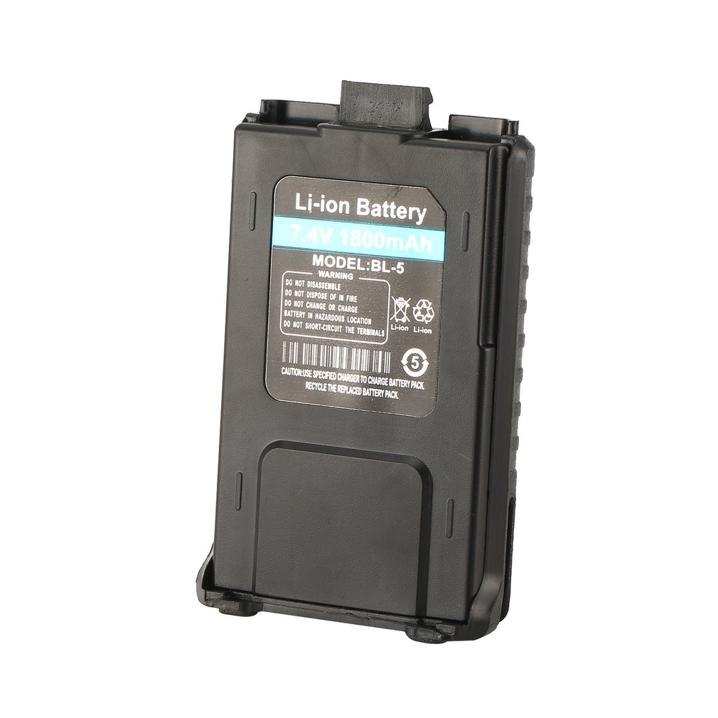 1800mAh Li-ion Battery For Baofeng UV-5R UV-5RE Walkie Talkie Two Way Radio