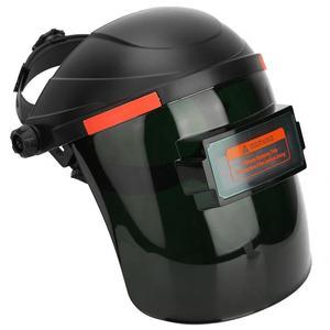 Image 4 - Solar Sensor Auto Lasfilters Masker Welder Gezicht Shield Beschermende Helm Cap Voor Argon Arc Gas Lassen 90*34mm Weergavegebied