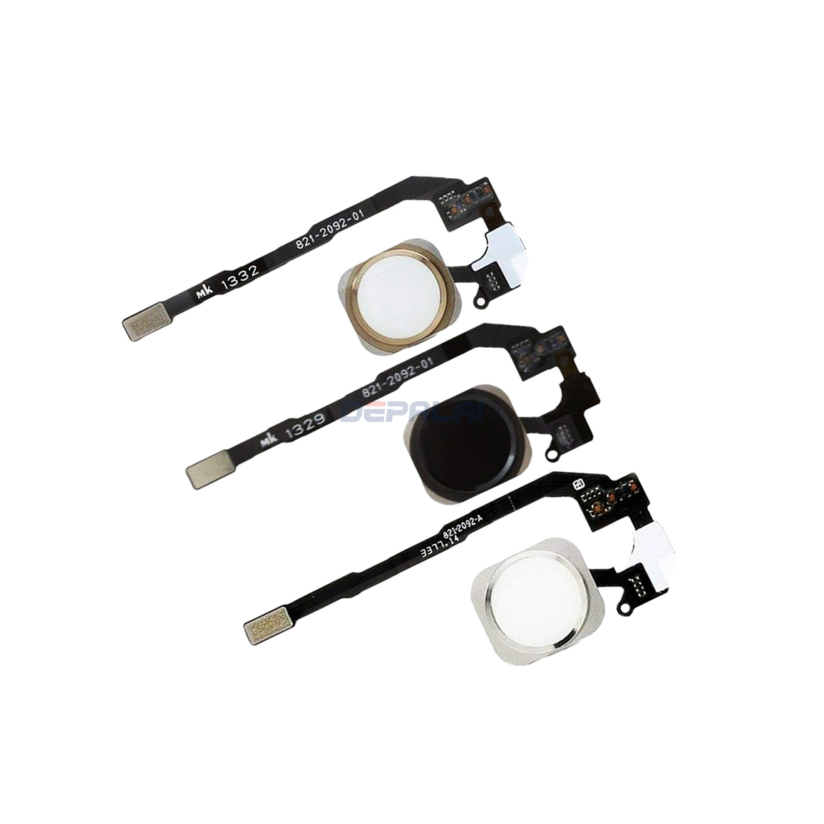 For IPhone 5S Home Button Assembly Flex Cable Sensor Ribbon Complete Spare Parts Replacement