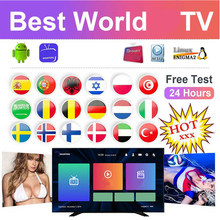 Full HD world TV free adult tv Spain US UK tv box android tv box smart tv m3u tv box list hot xxx(China)