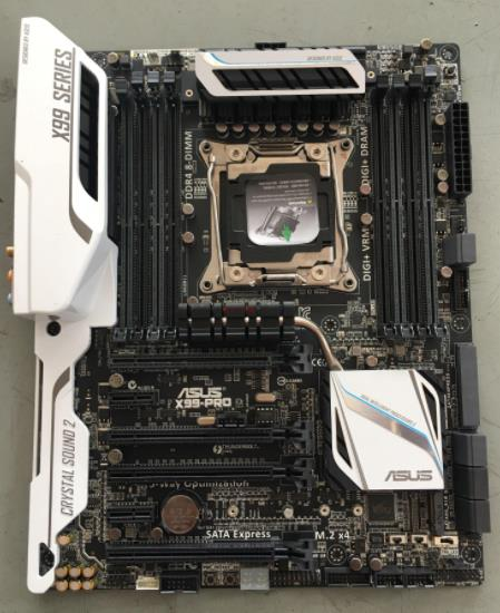 ASUS X99-PRO Original Motherboard DDR4 LGA 2011-V3 USB2.0 USB3.0 64GB X99 Used Desktop Motherboard