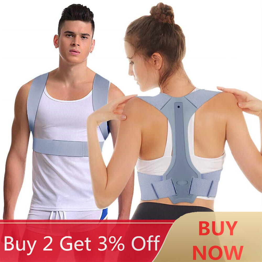 Adjustable Posture Corrector Back Shoulder Straighten Orthopedic Brace Belt for Clavicle Spine Back Support Pain Relief Unisex