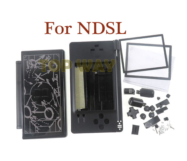 1set Limited Edition Full Housing Case Replacement Shell For Nintendo DS Lite DSL NDSL NDS Lite with Buttons Screws Kit