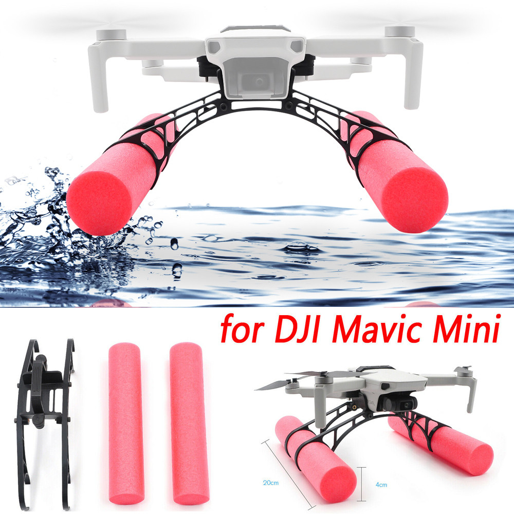 Landing Gear Extension Floating Kit For DJI Mavic Mini RC Drone Landing On Water Buoy Bar Height Scaffold Kit 1121#C