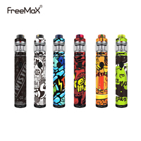 Original FreeMax TWISTER 80W vape pen kit Built In 2300mah Battery With Fireluke 2 Tank Mesh 5ml Vape Vaporizer colorful vaper