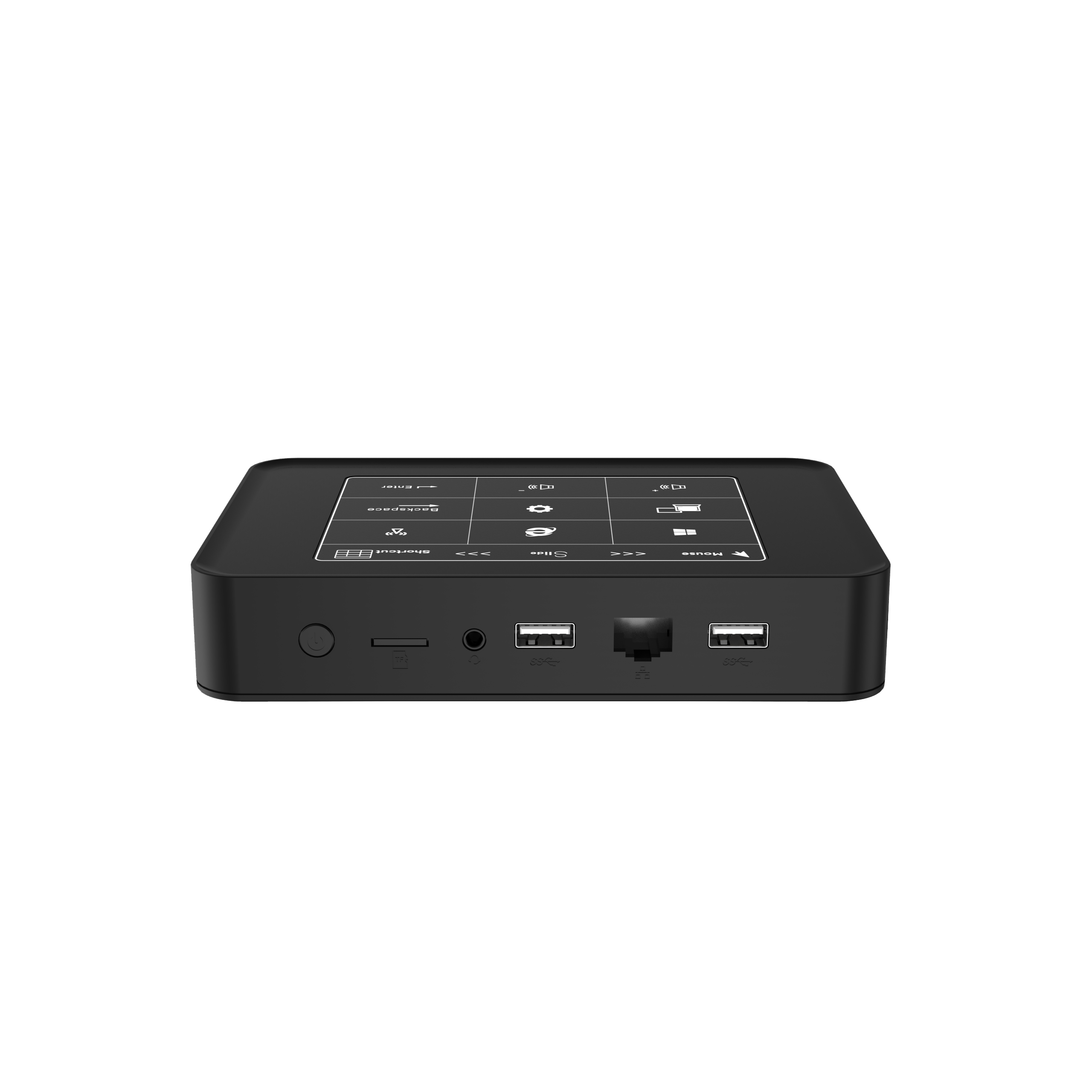 Newest Quad-cores Windows10 Mini PC Intel Celeron J3455 LPDDR3L 6G SSD 128G HTPC With Touch Control Board Panel Win10 Computer