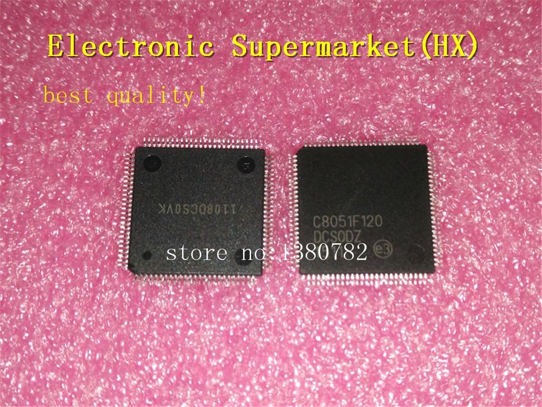 Free Shipping 50pcs/lots C8051F120-GQR  C8051F120  TQFP-100  New original  IC In stock!