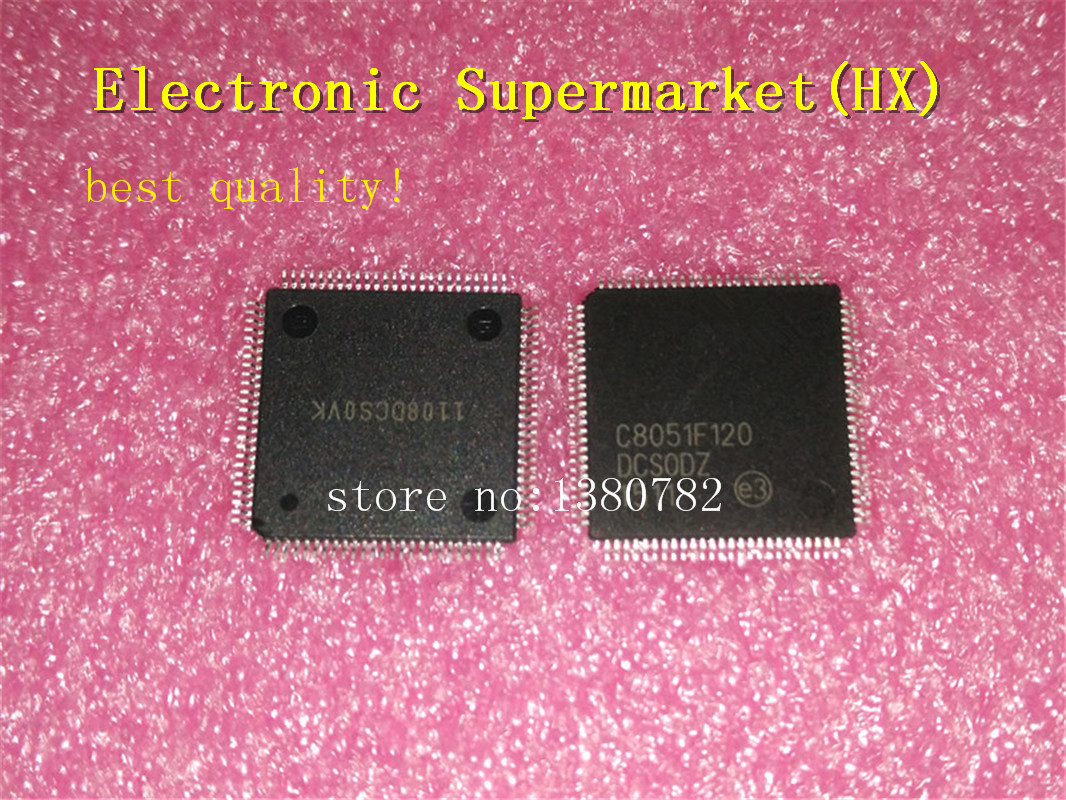 Free Shipping 50pcs/lots C8051F120 GQR  C8051F120  TQFP 100  New original  IC In stock!-in Integrated Circuits from Electronic Components & Supplies    1