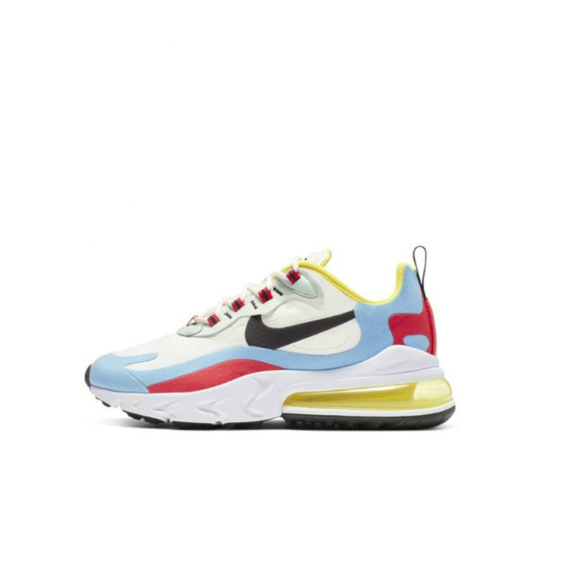 Nike Running Shoes Air Max 270 React Women's Running Shoes Breathable and Comfortable Sports Shoes AT6174-100