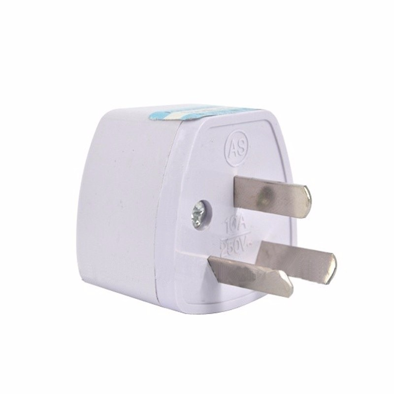 Universal <font><b>3Pin</b></font> AU NZ Power <font><b>Plug</b></font> Adapter 3 pin New Zealand Australia Travel <font><b>Plug</b></font> US/<font><b>UK</b></font>/EU to AU/NZ <font><b>Plug</b></font> Converter image