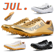 Men's Professional Training Track and Field Shoes Women's Sprint Track and Field Spikes Running Sprint Shoes Lightweight