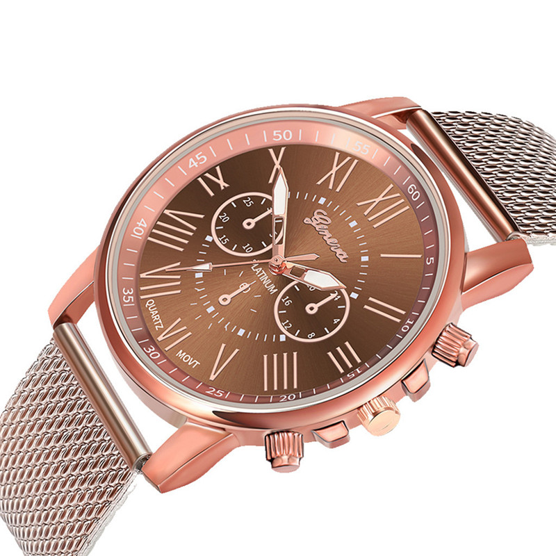Luxury women Quartz Wrist Watch Temperament lady Watch Stainless Steel Dial Casual Bracele Watches relogio feminino A4 H259f89dec47148d48d56c9f24323fac2K