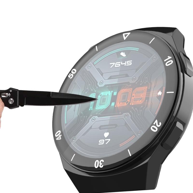 Защитная пленка из мягкого стекловолокна для huawei watch gt