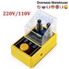 AUTOOL SPT101 220V 110V Car Spark Plug Tester Ignition Testers Double Hole Analyzer Automotive Diagnostic Tool