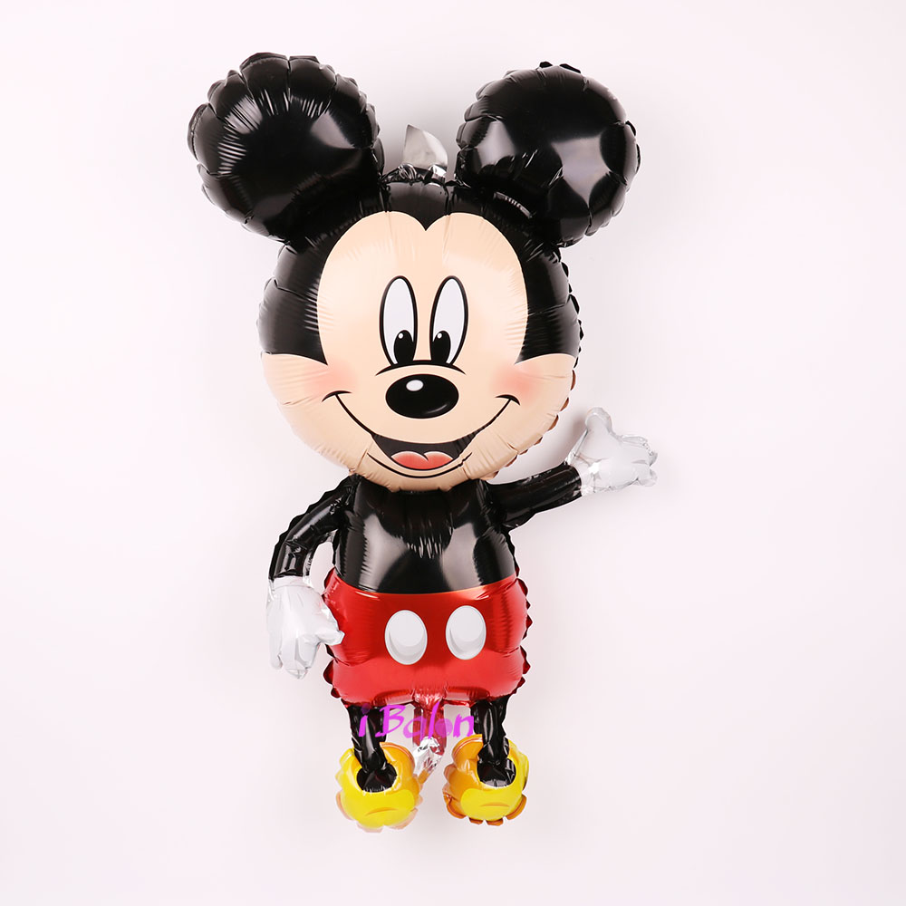 112cm Giant Mickey Minnie Mouse Cartoon Foil Balloon For Birthday Party 7