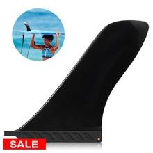 6,5-10 дюймов серфинга Sup одиночный плавник центральное ребро нейлоновая доска для серфинга Лонгборд для серфинга плавник для водных видов спорта Дайвинг лодка плавники