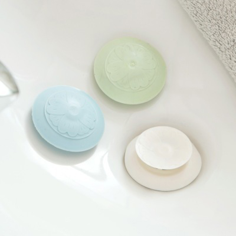 Sakura Sink Plug Floor Drain Plastic Kitchen Sink Hair Anti-blocking Filter Bathroom Sewer