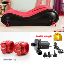 Sex Inflatable Sofa-Chair Sex-Furniture Erotic-Bed Couple Adult Soft Loafer Velvet