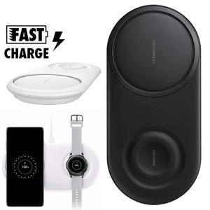 Image 1 - 25 ワット Wirless 充電器デュオサムスン S10 プラス a50 A70 ギア S2 S3 腕時計高速充電チーワイヤレス充電器、充電器 Inalambrico