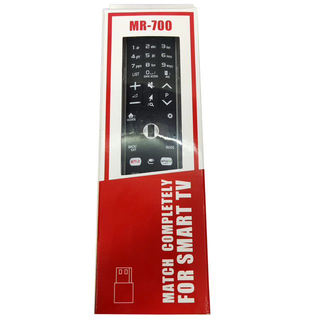 NEW Replacement for LG Smart TV Remote Control MR-700 AN-MR700 AN-MR600 AKB75455601 AKB75455602 OLED65G6P-U with Netflx 3