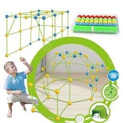 Новинка 2021, детская палатка «сделай сам», игрушка для строительства, наборы игрушек для мальчиков и девочек, подарки, сборка пространственн...