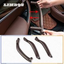 цена на Auto left right RHD LHD inner door panel for BMW f15 X5 f16 X6 interior handle pull trim cover car-styling accessories SAV