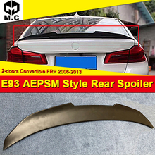 E93 Spoiler PSM style FRP Unpainted rear wing For BMW 3 Series 2-door convertible 320i 323i 325i  spoiler M look 06-13