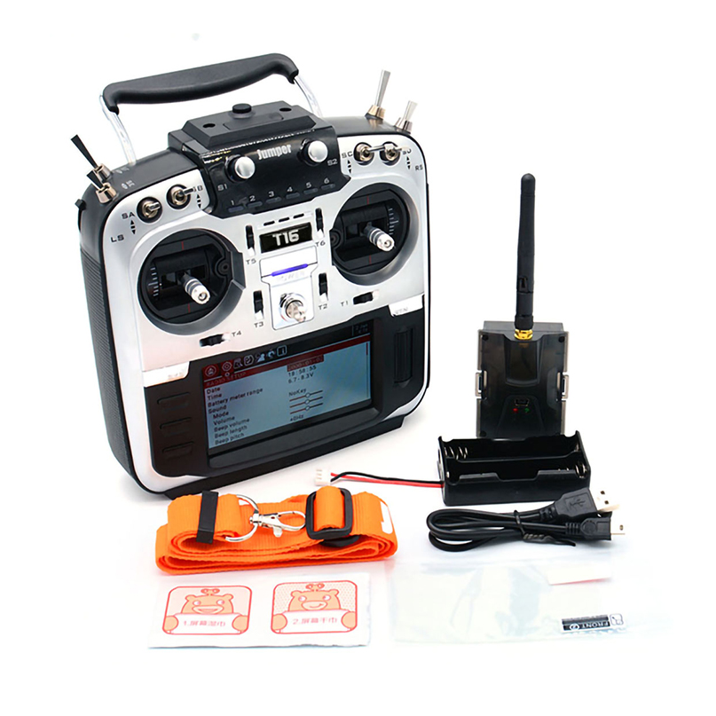 Jumper T16 Plus /T16 Pro Hall Gimbal Open Source Multi-protocol Radio Transmitter JumperTX 2.4G 16CH 4.3 Inch LCD For FPV Drone