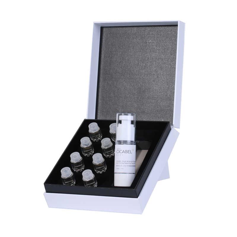 Anti envelhecimento hidratante soro facial branqueamento hidreating reparação soro conjunto essência para equipamento de beleza rolo microniddle