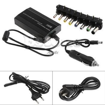 Uniwersalny 8xTip złącza AC DC do falownik DC zasilacz do ładowarki samochodowej Adapter z samochodu przejściówka do ładowarki przewód do laptopa ue wtyczka tanie i dobre opinie Deek-Robot NONE CN (pochodzenie) Other see information