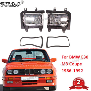 2Pcs Car Light For BMW E30 M3 Coupe 1986 1987 1988 1989 1990 1991 1992 Car-styling Front Bumper Fog Light Fog Lamp image