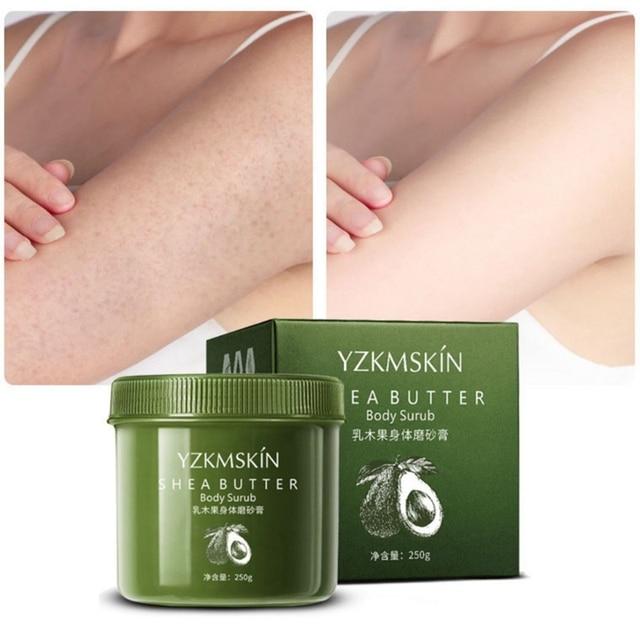 Shea Butter/Coffee Body Scrub Cream Moisturizing Nourishing Whitening Removal Dead Skin Exfoliating Body Skin Care 1