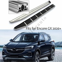 Running board fits for B.uick NEW Encore GX 2020 side steps nerf bar car pedal side stairs side bar 2PCS