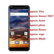 2.5D 9H Tempered Glass For Vertex impress Vira Sunset NFC Astra pluto Rosso Blade vega Screen Protector Glass Protective Film(China)