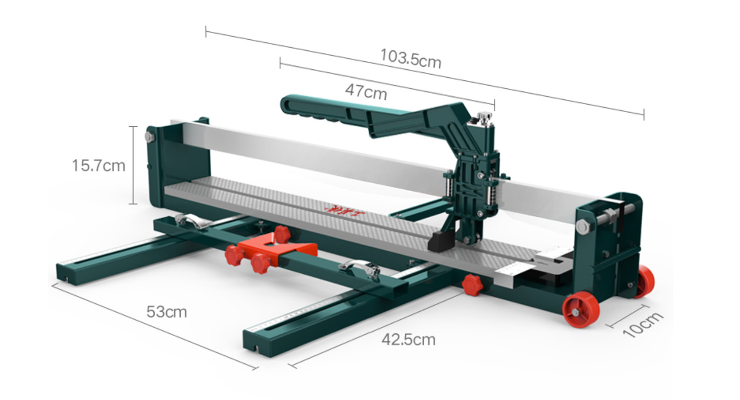 600/800/1000/1200mm Manual Tile Cutter Tile Pusher 800mm 1000mm Push Cutter Floor Tile Cutter  1200mm
