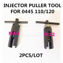 Para 0445 110 120 diesel common ferroviário injector bico remover extrator ferramenta m12/m14 fácil operar