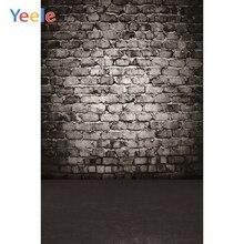 Yeele Halloween Backdrop Old Brick Wall Gradient Vintage Baby Kids Custom Vinyl Photography Background  For Photo Studio Props