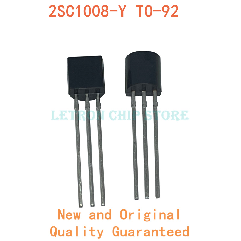 100PCS 2SC1008-Y TO-92 C1008-Y C1008 TO92 TRANSISTOR new and original IC Chipset
