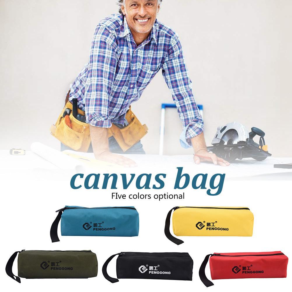 Electrician Wrist Tool Belt Storage Bag Waterproof Canvas Bag 5 Colors #CO
