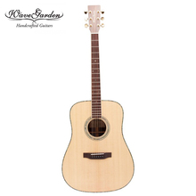 Professional Acoustic guitar 41 inch 280D Sitka spruce top Solid Wood musical Stringed instruments steel string guitarra Hot OEM acoustic guitar 39 inch 6 string guitar missing angle black rosewood fingerboard edge musical instruments professional