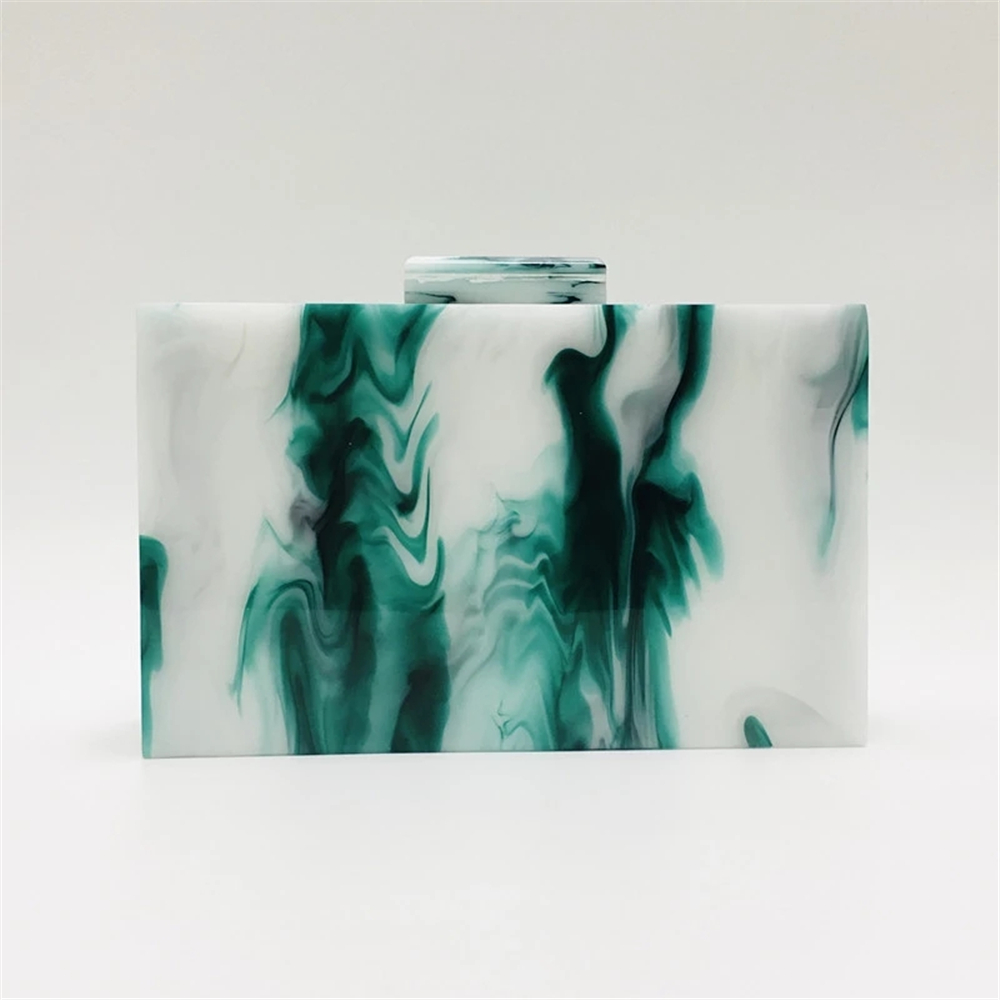 marble.htm 20stylish new trendy marble ink print evening bag milky green  trendy marble ink print evening bag