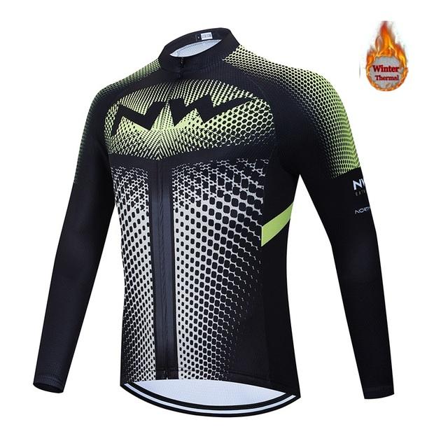 NW2020 zimowy ciepły polar męski rower spodnie Triathlon rower 19D poduszka powietrzna wysokiej jakości odporne na wstrząsy spodnie rowerowe tanie i dobre opinie Poliester Mikrofibra Modalne Elastyczny pas Pełnej długości Batik Pasuje prawda na wymiar weź swój normalny rozmiar