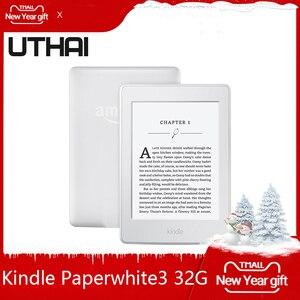 """Image 2 - קינדל Paperwhite לבן 32GB ספר אלקטרוני דיו מסך WIFI 6 """"אור אלחוטי קורא עם built ב תאורה אחורית ספר אלקטרוני קורא UTHAI"""