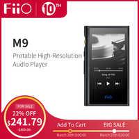 FiiO Android-based M9 HIFI Music MP3 Player with Balanced Output/Support WIFI/Air Play Bluetooth 4.2 aptx-HD/LDAC DSD128 USB DAC