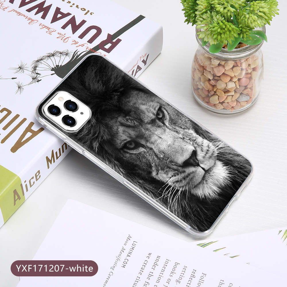 KISSCASE Lion Animal Case For iPhone 11 Pro XR XS MAX 6 6S 7 8 Plus X 10 Soft TPU Back Cover For iPone 11 Pro 2020SE Max Fundas