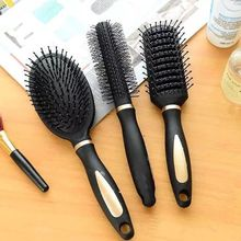 3 Types Massage Oval Hair Comb Round Rectangle Brush Anti Static Detangling Air Cushion Bristle SPA Hairdressing Styling Tool