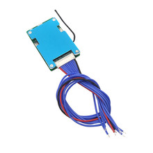 لوحة حماية بطارية Lipo, 36V 42V 10S bms 20A 3.7v مع مستشعر درجة الحرارة