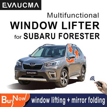 Moc samochodu blisko okna bliżej Kit moduł dla SUBARU FORESTER uto zamykania okna lustro system składania zamknięcie do okna podnośnik tanie i dobre opinie NoEnName_Null CN (pochodzenie) Windows Closer Do ruchu lewostronnego