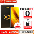 Глобальная версия смартфона Xiaomi POCO X3 NFC 6 Гб 64 Гб/6 ГБ 128 ГБ Snapdragon 732G 64MP камера 5160 мАч 33 Вт 6,67