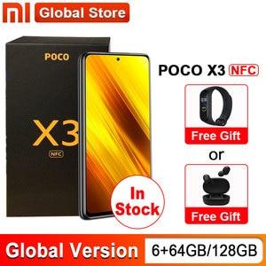 In stock Global Version Xiaomi POCO X3 NFC 6GB 64GB / 6GB 128GB Snapdragon 732G Smartphone 64MP Camera 5160mAh 33W 6.67